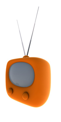 Image of a retro T.V. set