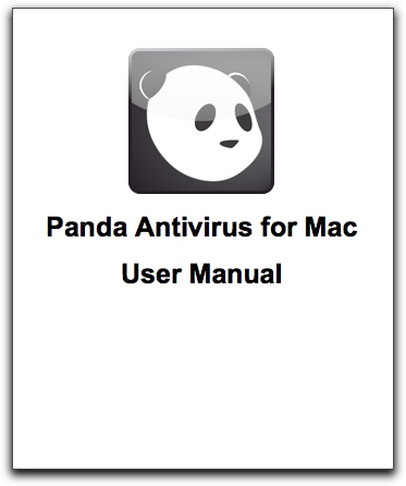 Cover of Panda Antivirus for Mac user manual
