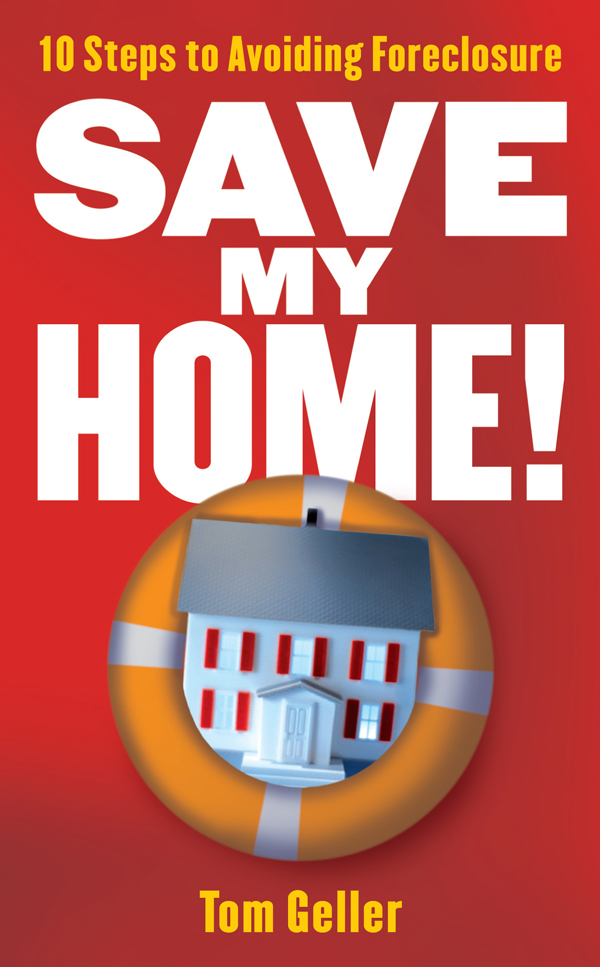 "Cover of the book, ""Save My Home"""