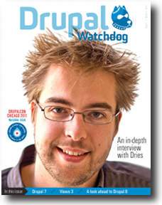 Cover of Drupal Watchdog Issue #1