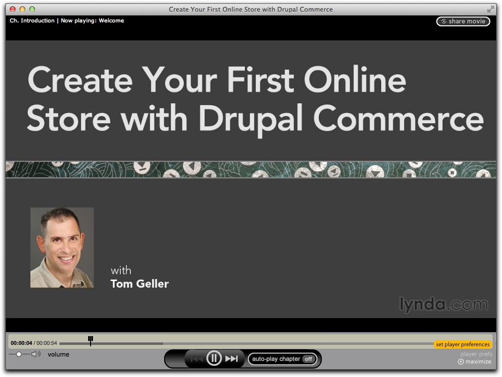 Screenshot of Create Your First Online Store with Drupal Commerce