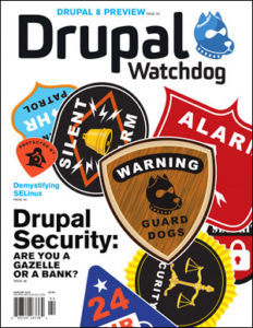 Cover of Drupal Watchdog Issue #4