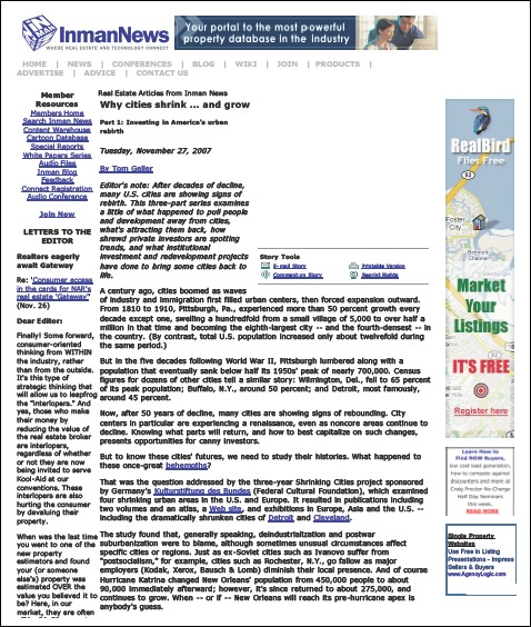 Article as it appeared on the web