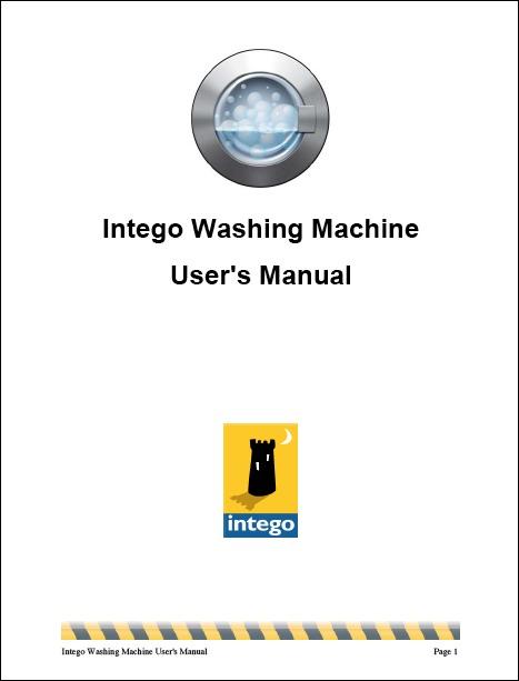 Screenshot of user manual's cover