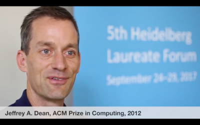 Jeff Dean, ACM Prize in Computing (2012)